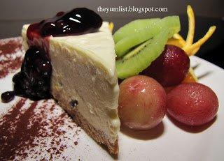 Dessert, sweets, Malacca, Melaka, The Sterling, rooftop, bar, restaurant, boutique hotel