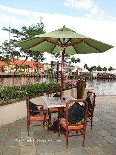 Bar Rio, Melaka, Sunset, Drinks, Food