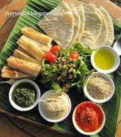 where to eat in Langkawi, restaurants, nyonya, mezze platter