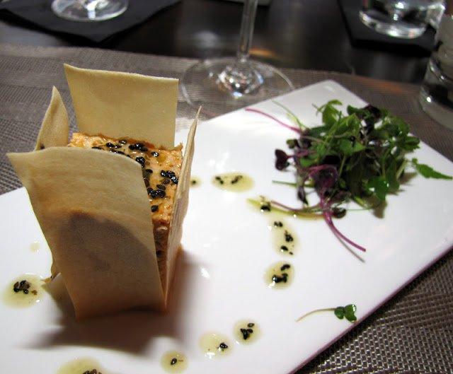 Circus, MIGF menu, Pavilion, Spanish Chef, degustation menu