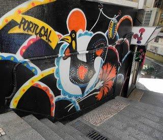 Alley art in Macau