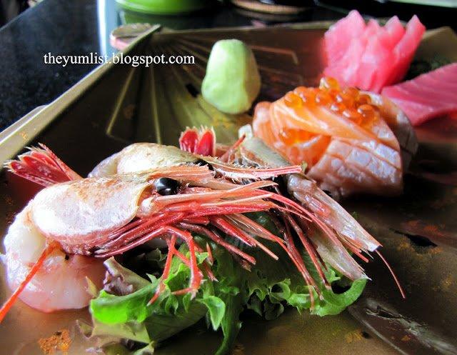 Jamu Bar, Pangkor Laut Resort, Japanese, sushi, sashimi