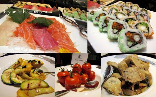Sunday buffet brunch, Ritz Carlton, Kuala Lumpur, Bubbly brunch, champagne brunch, seafood buffet