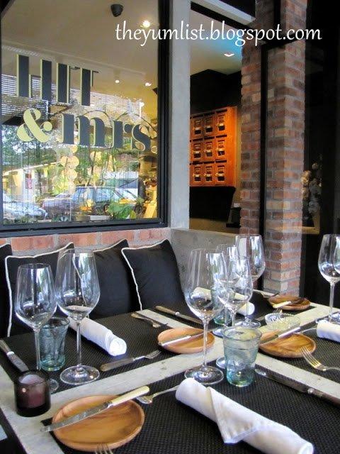 Hit and Mrs., Bangsar, experimental cuisine, elegant dining KL, best restaurant Kuala Lumpur