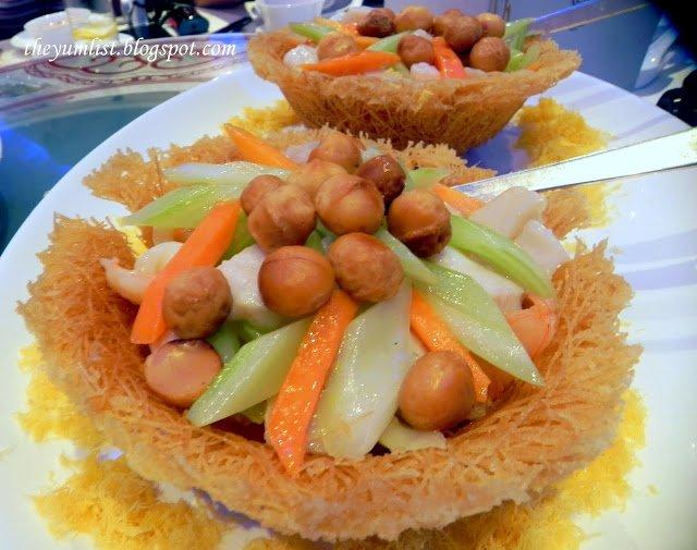 Wok Fried Assorted Seafood, Celestial Court, Sheraton Imperial Kuala Lumpur Hotel
