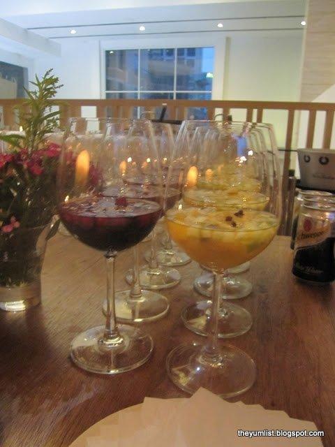 Sangria, Wine Bar, Mediteca, KLCC, Lunch, Dinner, Spanish Tapas