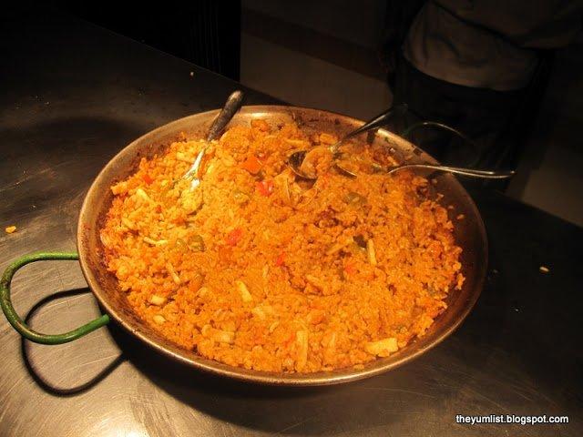 Seafood Paella, Mediteca, KLCC, Spanish Tapas
