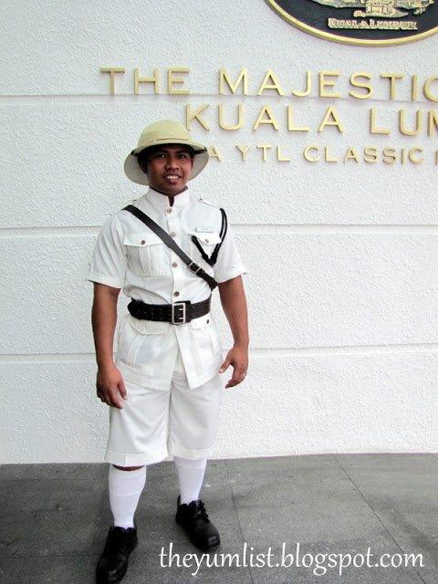 The majestic hotel kuala lumpur malaysia the yum list for Uniform spa malaysia