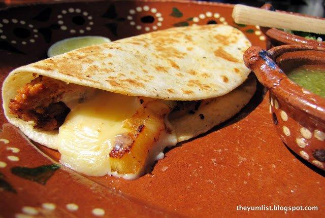 La Mexicana, Authentic Mexican restaurant, Kuala Lumpur, tequila, margaritas, tacos, mole sauce