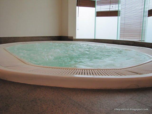 Spa and Gym at Hilton Hotel, massage, gymnasium, Kuala Lumpur