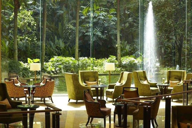 afternoon tea, lobby lounge, shangri la, kuala lumpur