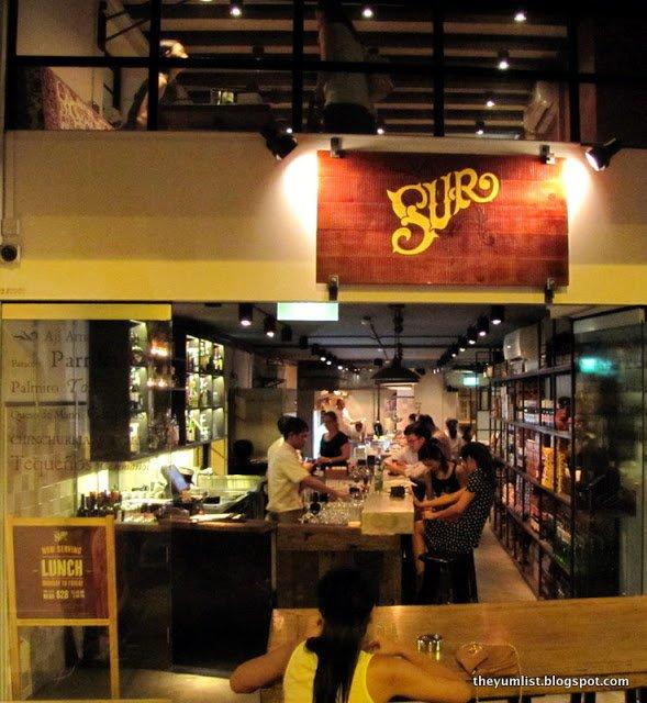 Sur, Nuevo Latino Kitchen, South American Cuisine, Singapore, Latin restaurant
