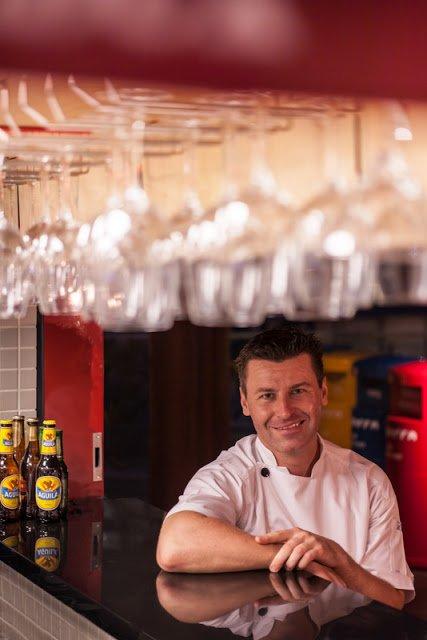 Chef Michael Fraser, Executive Chef of La Barra Colombian Bistro, Singapore