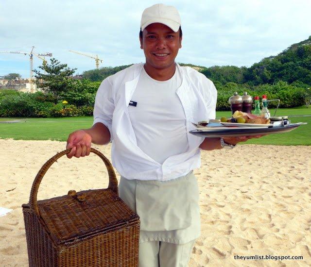 Beach Picnic, Nikko Resort and Spa, Nusa Dua, Bali