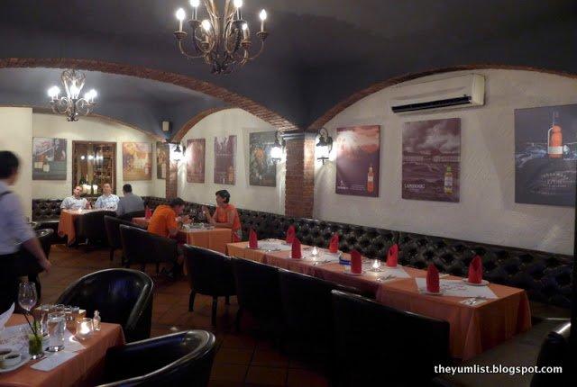 The Steakhouse, Whisky Bar, Kuala Lumpur, changkat bukit bintang
