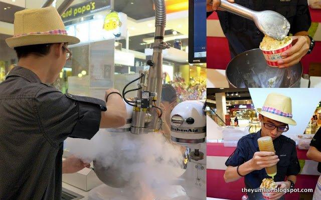OMG! Liquid Nitrogen Ice Cream, Pavilion, Kuala Lumpur