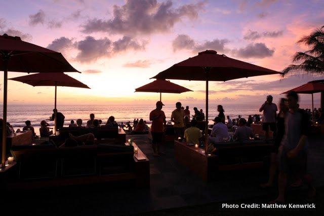 Best beach bars in bali