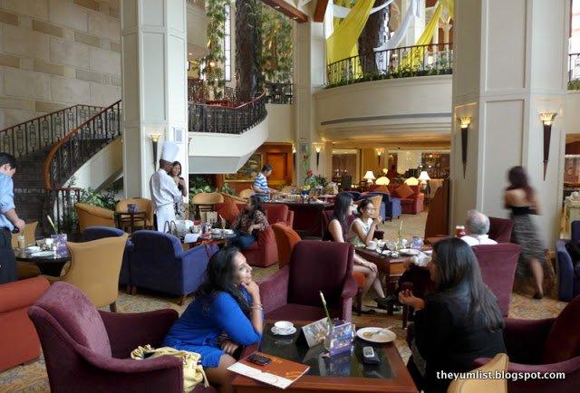 Afternoon High Tea, Pavilions Lounge, Sheraton Imperial Kuala Lumpur