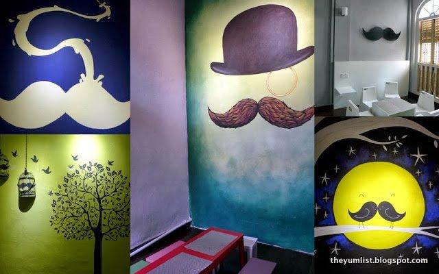 Moustache Houze, George Town, Penang