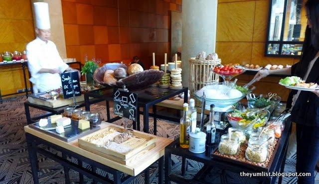 Grand Cafe, Buffet Breakfast, Grand Hyatt Hong Kong