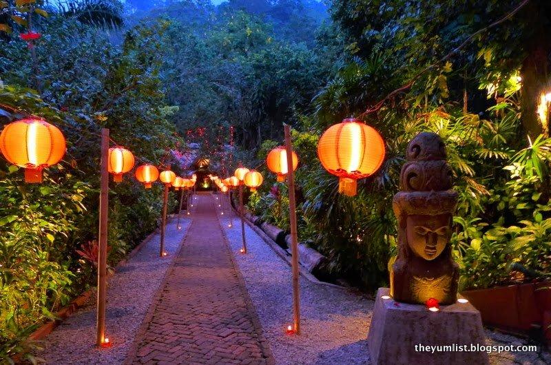 Tamarind Springs Restaurant, Tama Tun, jungle fine dining