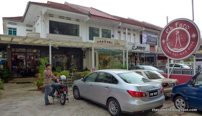 El Faro Bar and Tapas, George Town, Penang