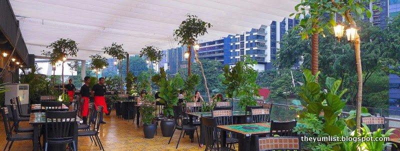 Barbecue Garden, Rooftop KL Life Centre