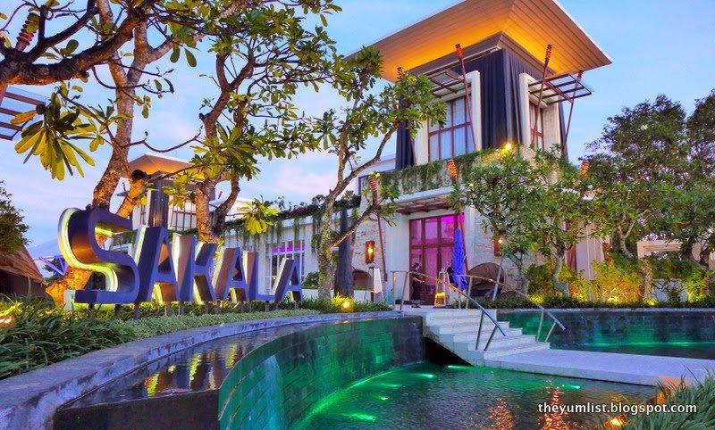 Sakala Bali, Tapas Menu, The Chedi Sakala