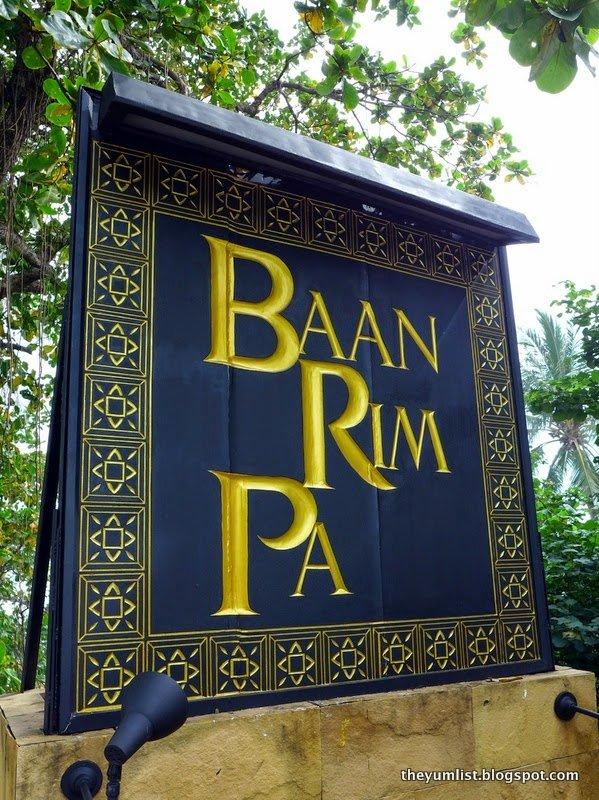 Baan Rim Pa, Royal Thai Restaurant, Patong