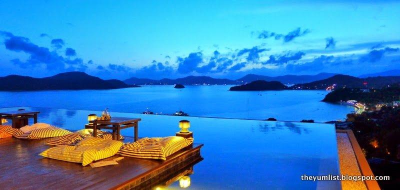 Baba Nest, Sunset Bar, Sri panwa, Phuket,