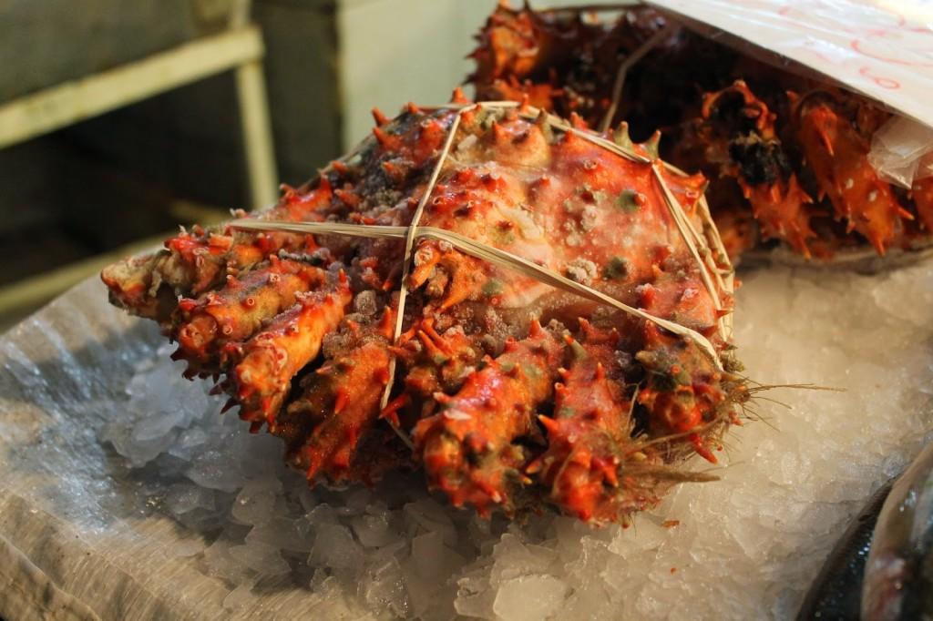 Chile fresh seafood