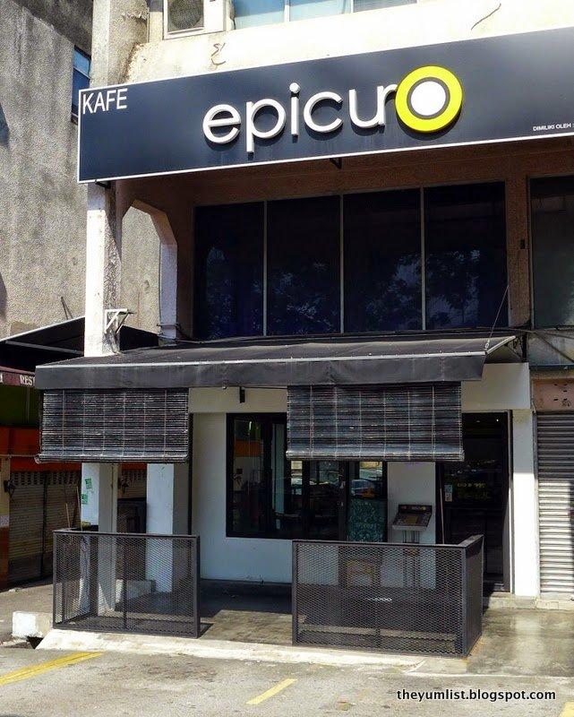 Epicuro, Damansara Uptown, pork, non-halal
