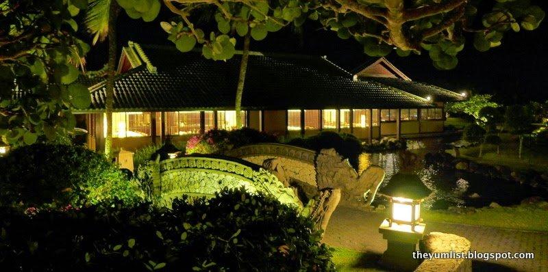 Nampur Japanese Restaurant, Grand Hyatt Bali, Nusa Dua