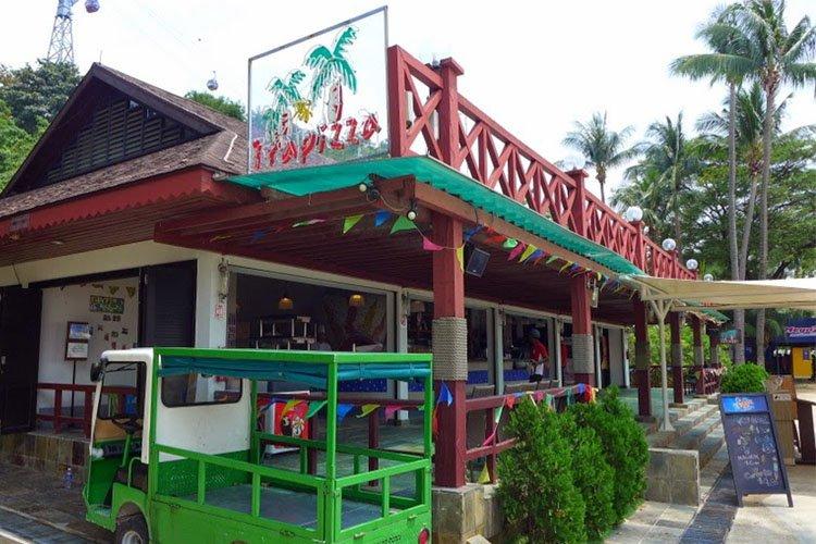 where to eat on Sentosa
