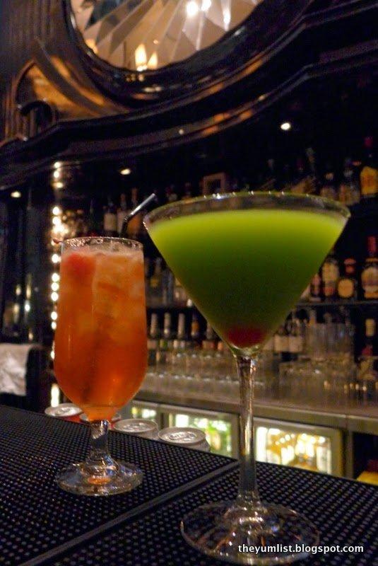 Azure Restaurant and Bar, Hotel LKF by Rhombus, Hong Kong