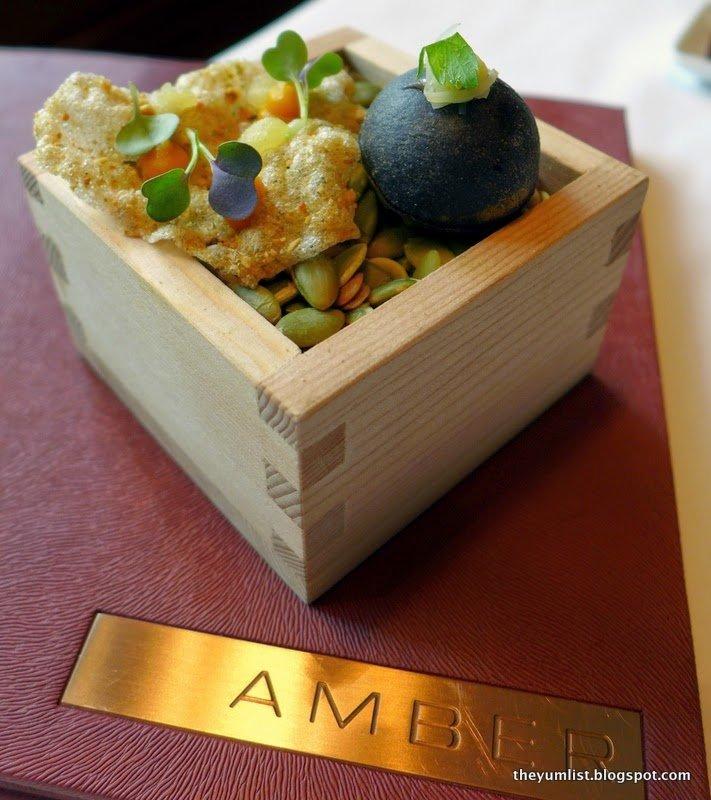 Amber, The Landmark Mandarin Oriental, Hong Kong