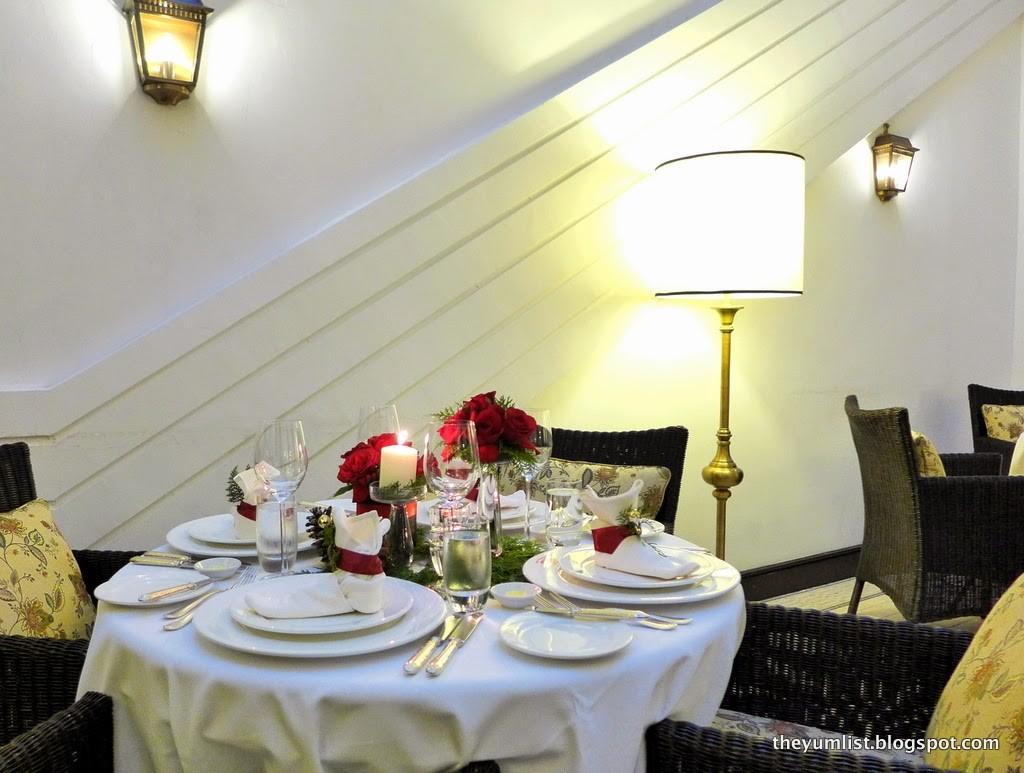 Christmas & New Year Menus, Colonial Cafe, The Majestic Hotel Kuala Lumpur