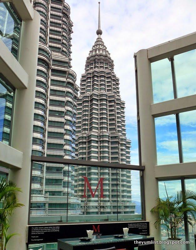 Marini's on 57, Valentine's Day Menu, Kuala Lumpur
