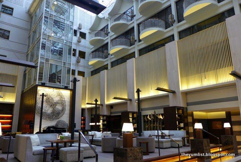 The Lounge, Afternoon Tea, Hyatt Regency Kinabalu