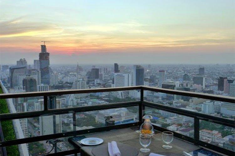 Banyan Tree Rooftop Bar, Bangkok