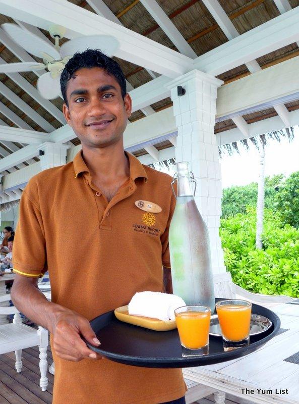 Iru Cafe, Loama Resort Maldives at Maamigili