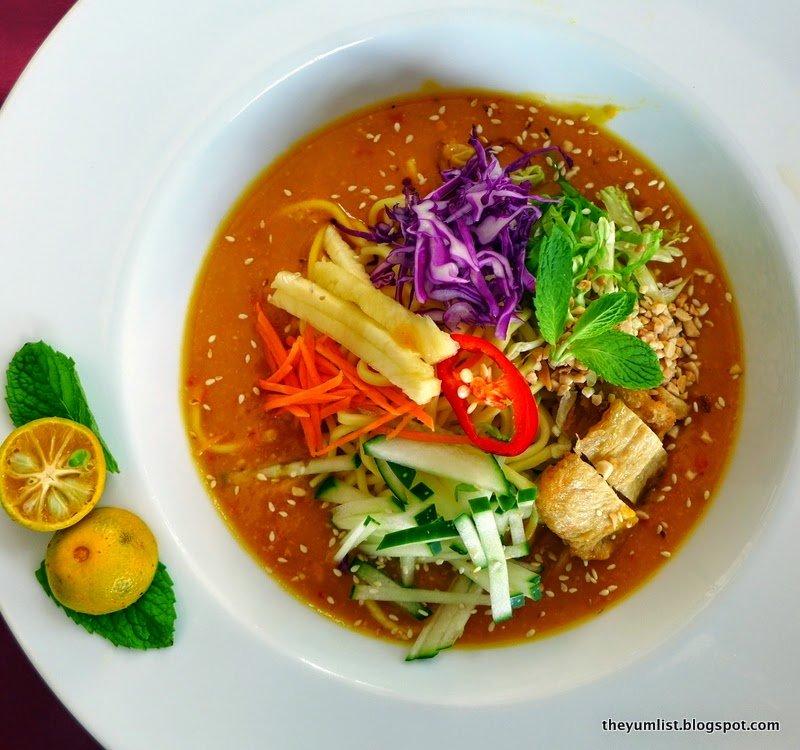 best local vegetarian restaurant Kuala Lumpur