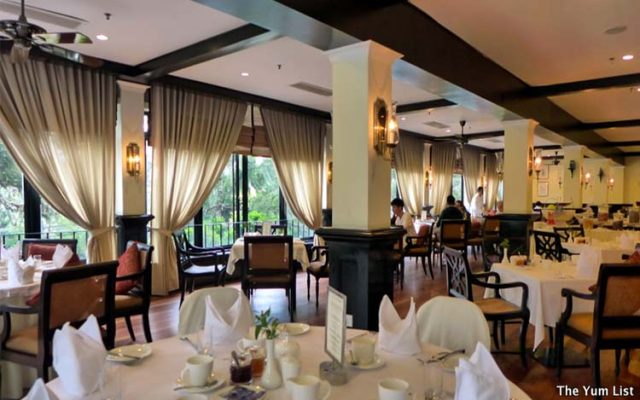 The Dining Room, Cameron Highlands Resort Review