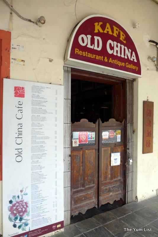 Old China Cafe, Jalan Balai Polis