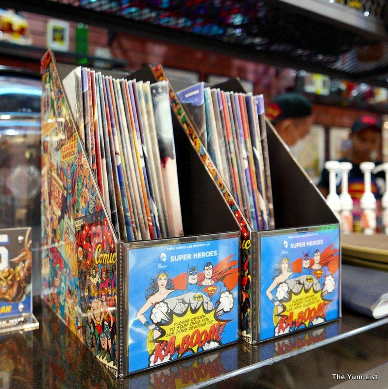 DC Comics Super Heroes Cafe, Pavilion, Kuala Lumpur - The Yum List