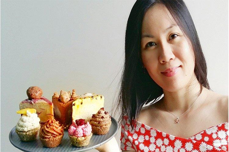 gluten free, organic raw desserts in Kuala Lumpur