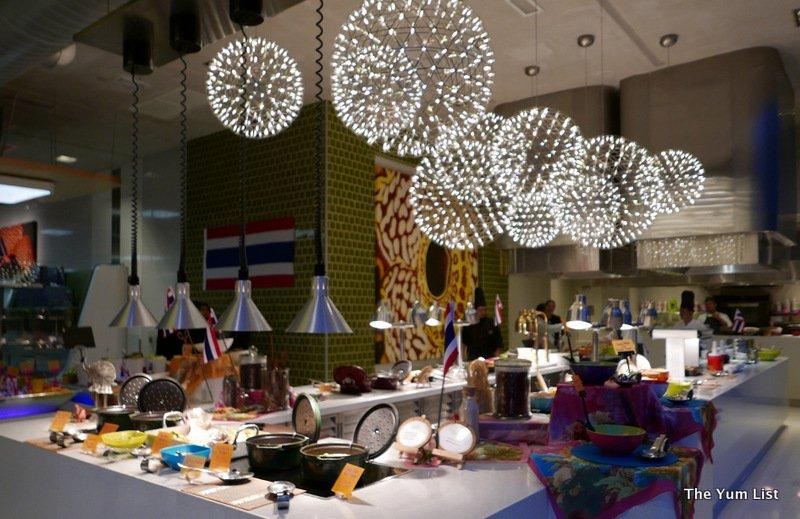 Buffet restaurant, Nook, Aloft, KL Sentral