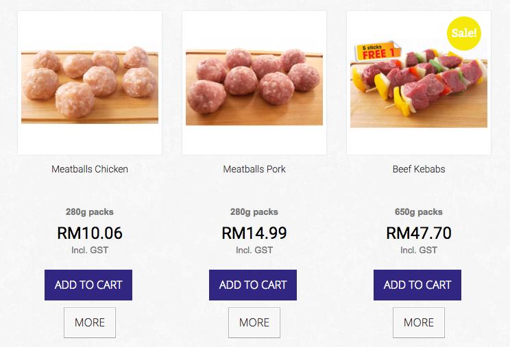 The Blue Cow Butcher, online meat shopping, Kuala Lumpur