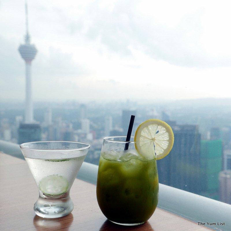 afternoon tea at Nobu Kuala Lumpur