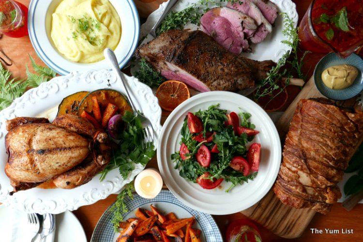 Table and Apron, Christmas dinner take away